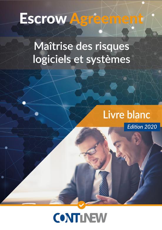 Livre Blanc 2020 Continew Escrow agreement - maitrise des risques logiciels et systemes