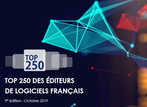 Top 250 des editeurs de logiciels français