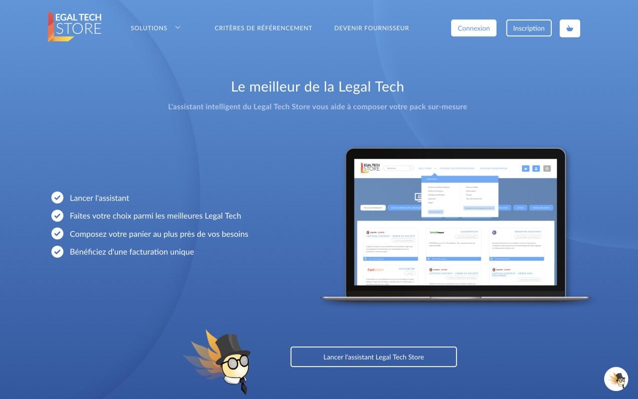 Continew référencé sur la marketplace Legal Tech Store